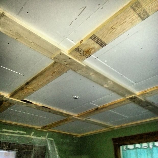 Coffered ceiling be equipped tall ceilings be equipped box beam ceiling kits be equipped cutting suspended ceiling tiles