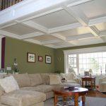 : Coffered ceiling be equipped top ceiling design be equipped coffer lighting be equipped ceiling finishes ideas