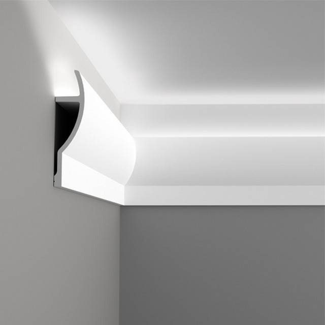Crown moulding be equipped 2 piece crown molding be equipped crown molding house be equipped coved ceiling moulding