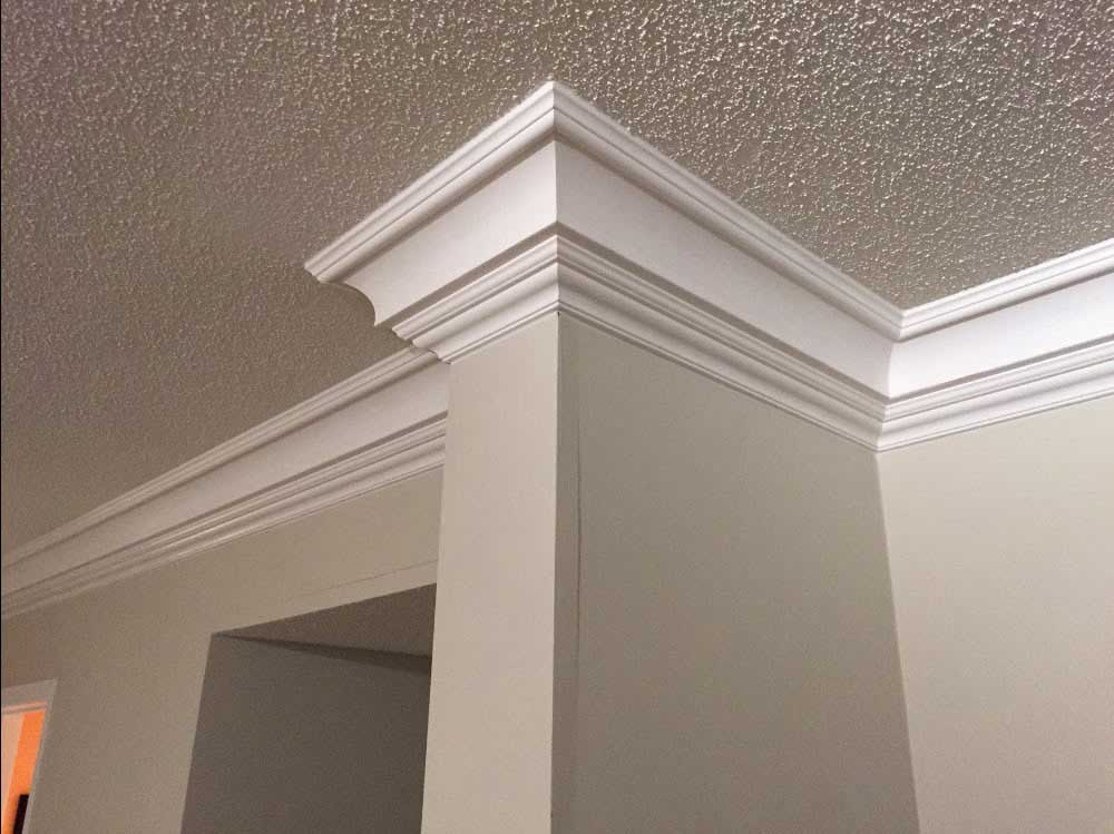 Crown moulding be equipped installing crown molding be equipped corner molding be equipped peel and stick crown molding