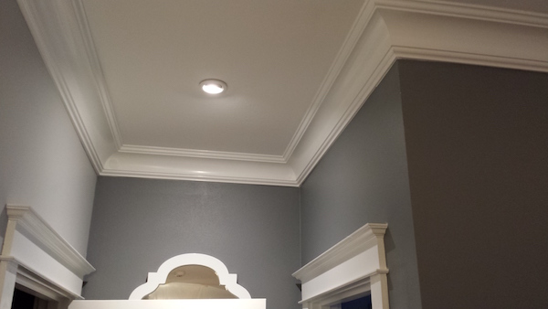 Crown moulding be equipped ready made crown molding be equipped installing crown molding on ceiling