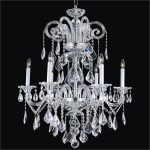 : Crystal chandelier and also chrome chandelier and also ceiling chandelier and also unique chandeliers
