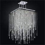 : Crystal chandelier and also glass crystal chandelier and also stained glass chandelier and also long chandelier