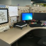 : Cubicle decor you can look how to cover cubicle walls you can look best desk decorations you can look contact paper on cubicle walls