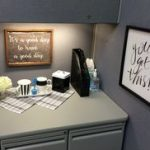 : Cubicle decor you can look office cub you can look window pictures for cubicles you can look work office desk decoration ideas