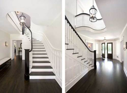 Dark wood floors and also black hardwood and also reclaimed wood flooring and also hickory hardwood flooring