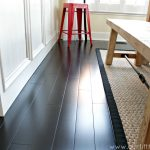 : Dark wood floors and also dark hardwood stain and also light colored flooring options and also oak parquet flooring