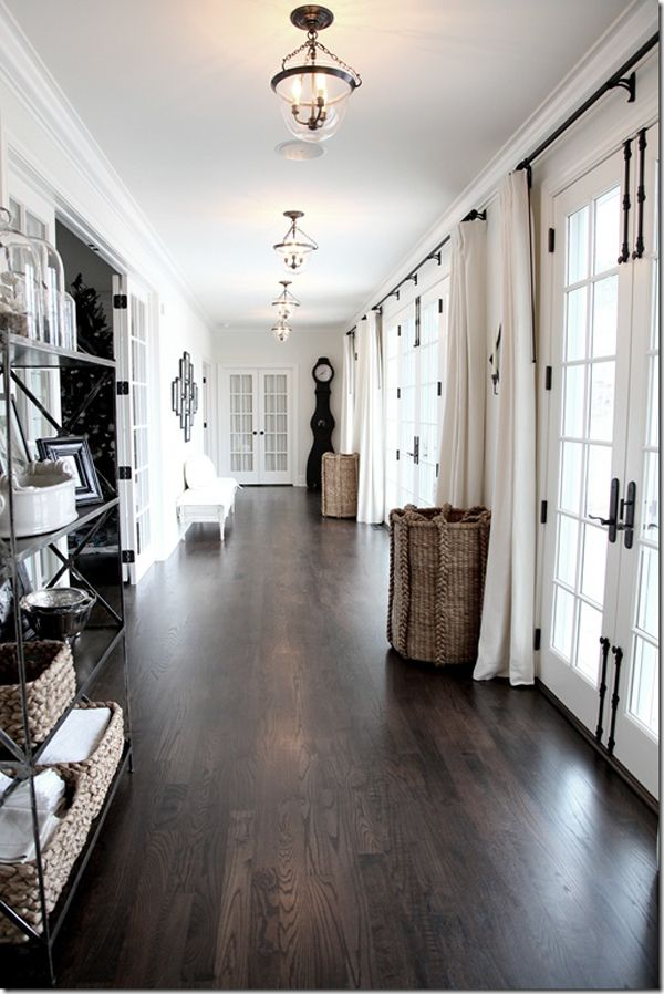 Dark wood floors and also hickory flooring and also cheap solid wood flooring and also walnut laminate flooring