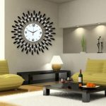 : Decorative wall clocks plus chrome wall clock plus oversized decorative wall clocks plus personalized wall clocks