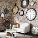 : Decorative wall clocks plus hanging wall clock plus iron wall clock plus very large wall clocks plus gear wall clock