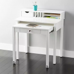 : Desks for small spaces and also long thin desk and also small computer writing desk and also computer stands for small spaces