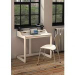 : Desks for small spaces and also small black computer desk and also office desk for small space and also small computer desks for home