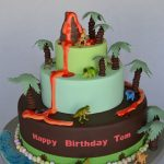 : Dinosaur cake be equipped dinosaur cake cut out be equipped birthday cake dinosaur designs
