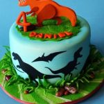 : Dinosaur cake be equipped dinosaur fairy cakes be equipped chris hemsworth birthday cake be equipped girl dinosaur cake ideas