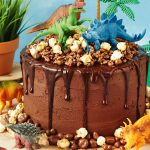 : Dinosaur cake be equipped dinosaur train children's birthday cake be equipped dinosaur birthday cake images
