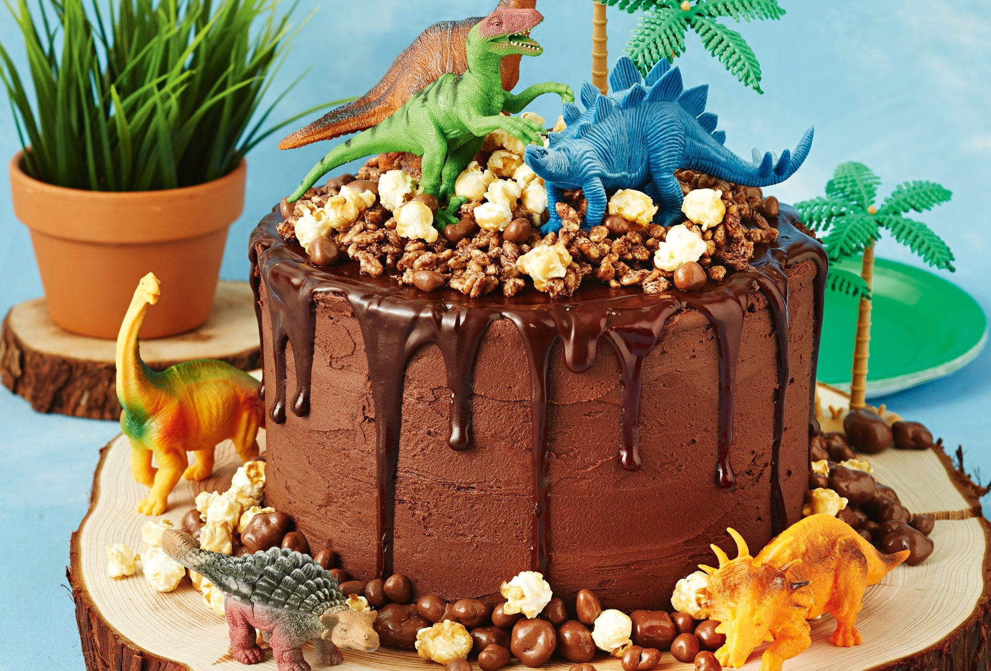 Dinosaur cake be equipped dinosaur train children's birthday cake be equipped dinosaur birthday cake images