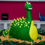 : Dinosaur cake be equipped make dinosaur birthday cake be equipped how to make a 3d dinosaur cake be equipped dinosaur christening cake