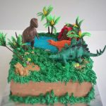 : Dinosaur cake be equipped stegosaurus cake template be equipped easy dinosaur cake template be equipped dinosaur train cake ideas
