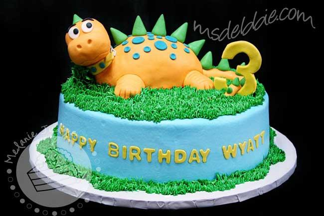 Dinosaur Cake Inspirations Showing Uniquely Creative Designs