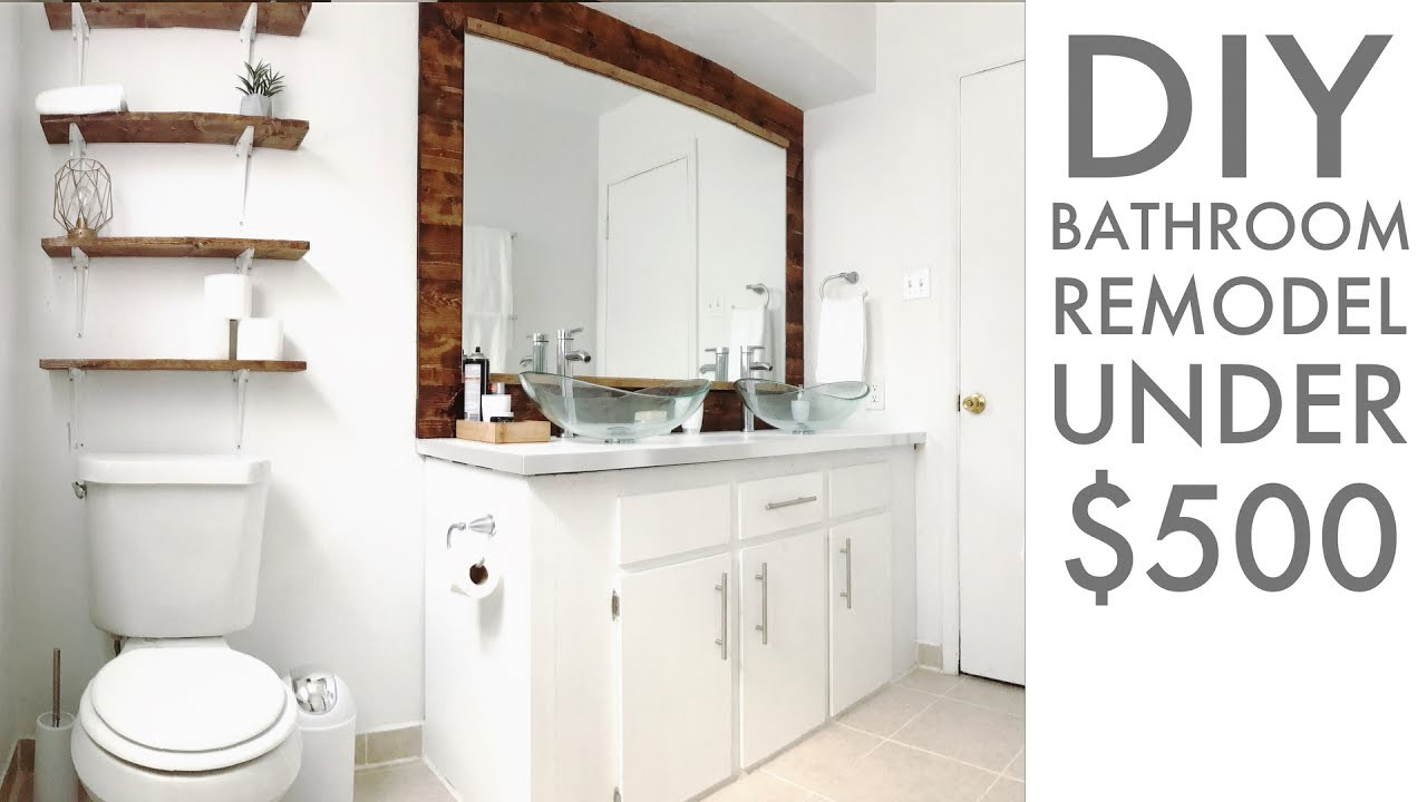 Diy Bathroom Remodel also home improvement ideas for small bathrooms also how to renovate a bathroom step by step