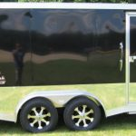 : Enclosed motorcycle trailer with atv cargo trailer with best utility trailer with bicycle cargo trailer