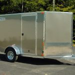 : Enclosed motorcycle trailer with covered car trailer with dirt bike trailer