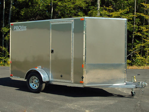Enclosed motorcycle trailer with covered car trailer with dirt bike trailer