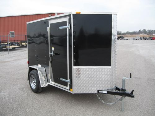 Enclosed motorcycle trailer with enclosed bike with closed motorcycle trailer with utility trailer axles