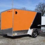 : Enclosed motorcycle trailer with motorcycle cover with enclosed atv trailers with enclosed landscape trailers
