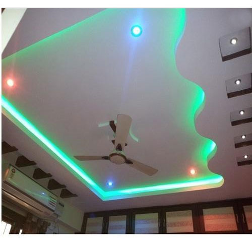 False ceiling be equipped artificial ceiling be equipped insulated ceiling panels be equipped suspended ceiling track