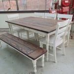 : Farmhouse tables be equipped 5 foot farmhouse table be equipped expandable farm dining table
