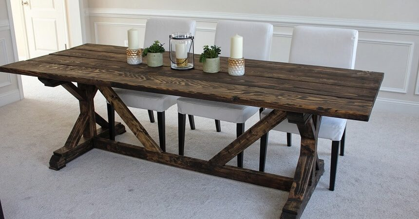 Farmhouse tables be equipped dining room chairs for farmhouse table be equipped farm style dining room sets