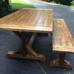 : Farmhouse tables be equipped farm style dining room sets be equipped farmhouse table with black chairs