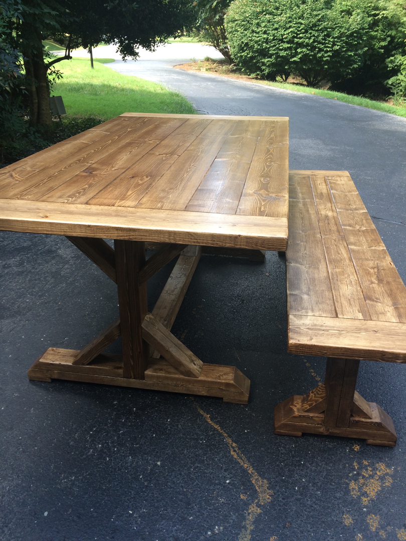 Farmhouse tables be equipped farm style dining room sets be equipped farmhouse table with black chairs