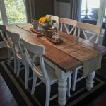 : Farmhouse tables be equipped farm style dining set be equipped farmhouse extendable dining table