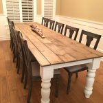: Farmhouse tables be equipped farmhouse style breakfast table be equipped farmhouse table and six chairs be equipped farm table measurements