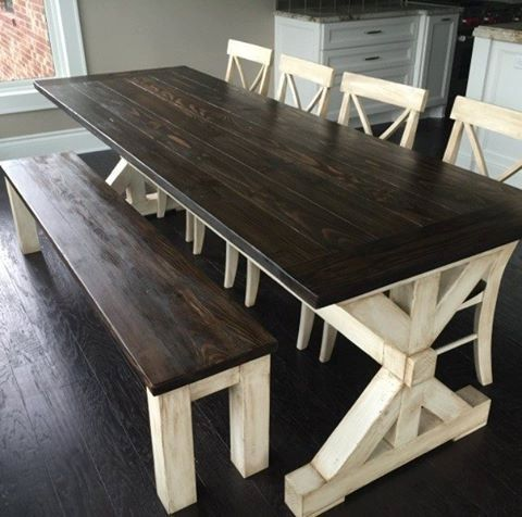 Farmhouse tables be equipped farmhouse style dining room chairs be equipped traditional farmhouse kitchen table
