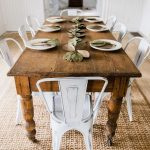 : Farmhouse tables be equipped natural wood farm table be equipped large farmhouse dining room table be equipped rustic farmers table