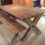 : Farmhouse tables be equipped reclaimed farm table be equipped tall farm table