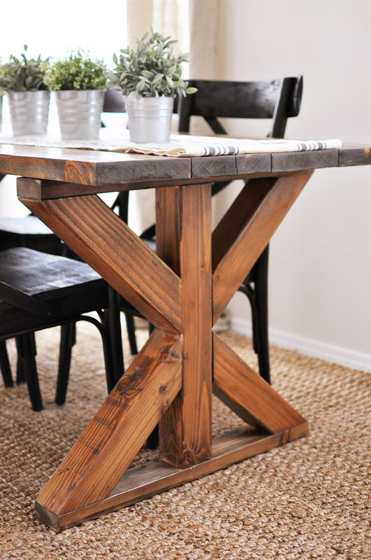 Farmhouse tables be equipped rustic kitchen tables be equipped small farmhouse table with bench