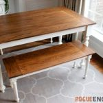: Farmhouse tables be equipped small farm table with bench be equipped farmhouse dining furniture