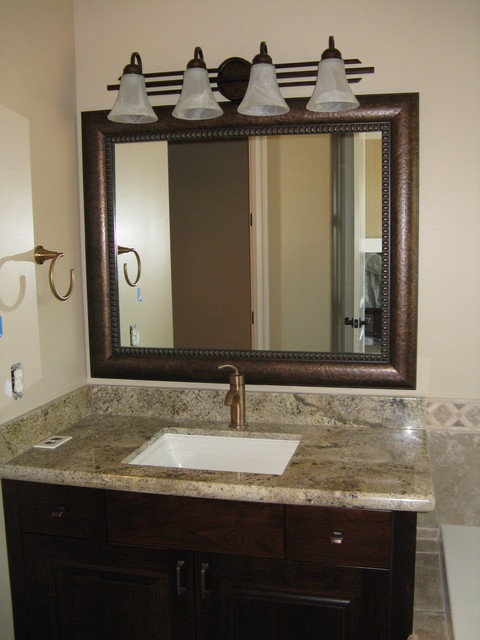 Framed Bathroom Mirrors Also Wall