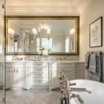 : Framed Bathroom Mirrors also big wall mirrors also vanity wall mirror