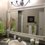 : Framed Bathroom Mirrors also decorative bathroom mirrors also white bathroom mirror