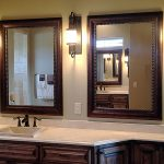 : Framed Bathroom Mirrors also double wide bathroom mirror also inexpensive bathroom mirrors