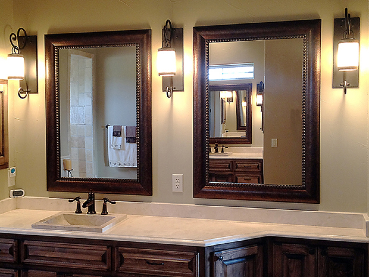 Framed Bathroom Mirrors also double wide bathroom mirror also inexpensive bathroom mirrors