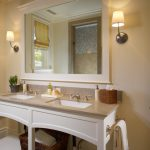 : Framed Bathroom Mirrors also hanging bathroom mirror also small framed mirrors