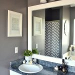 : Framed Bathroom Mirrors also large bathroom mirror with lights also white bathroom vanity mirrors
