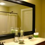 : Framed Bathroom Mirrors also large decorative mirrors also black wall mirror also unique mirrors