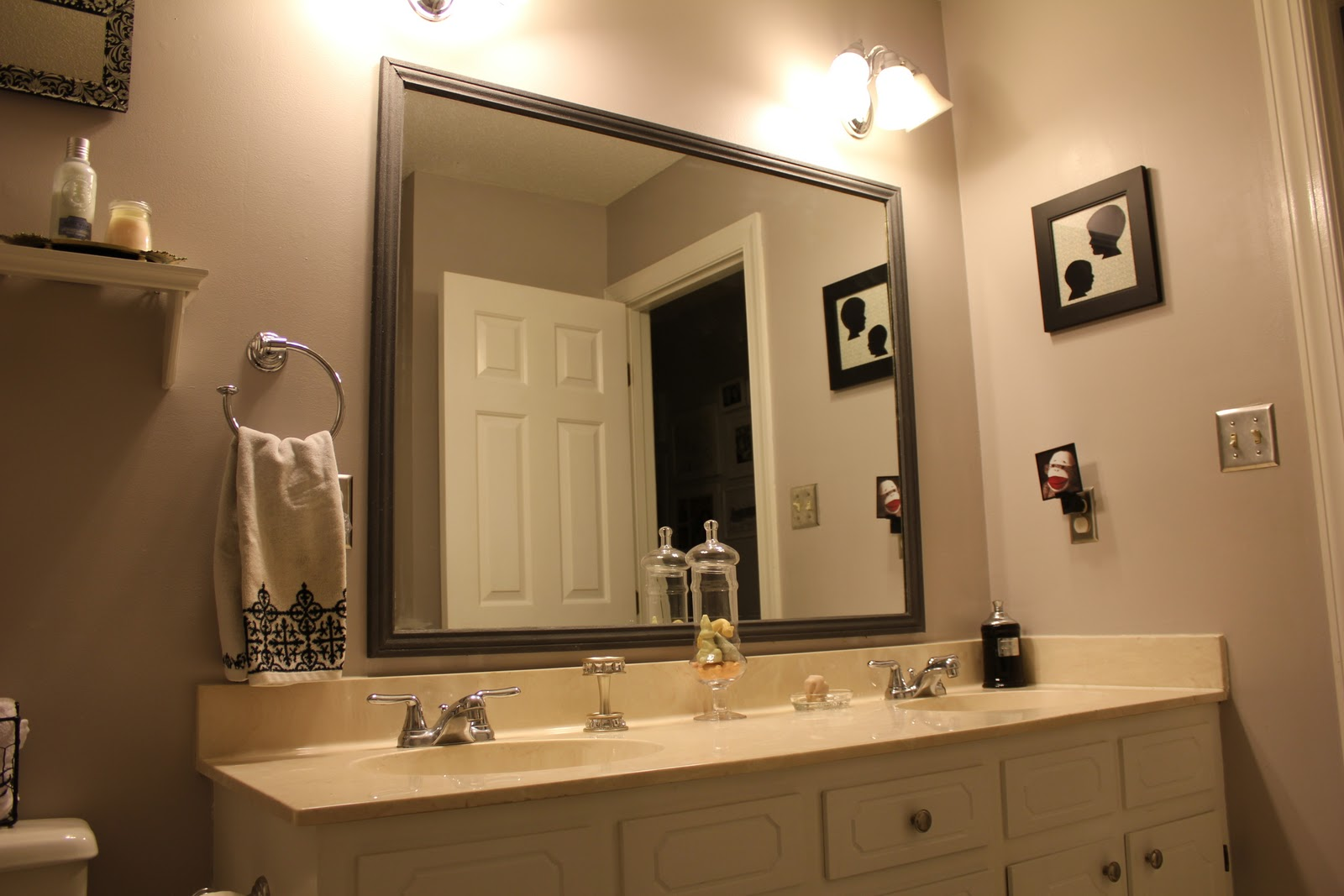 Framed Bathroom Mirrors 2 Or 1